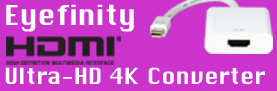 Active DisplayPort & Mini DisplayPort to HDMI Converters