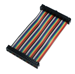 GPIO 4-Inch Ribbon Cable for Raspberry Pi A-Plus/B-Plus/Pi 2/Pi Zero with 40pins ARGPF-04 037229003802