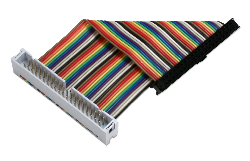 GPIO 4-Inch Ribbon Extension Cable for Raspberry Pi A-Plus/B-Plus/Pi 2/Pi Zero with 40pins ARGPX-04 037229003857