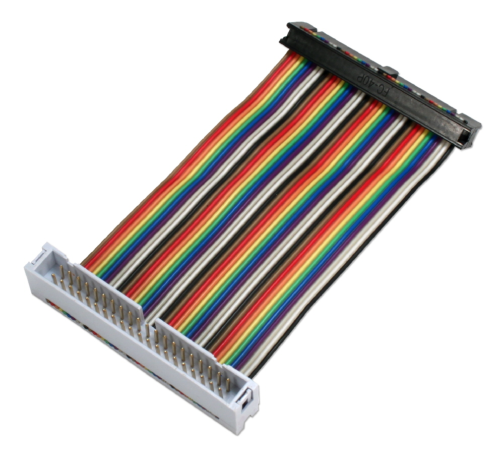 GPIO 8-Inch Ribbon Extension Cable for Raspberry Pi A-Plus/B-Plus/Pi 2/Pi Zero with 40pins - ARGPX-08
