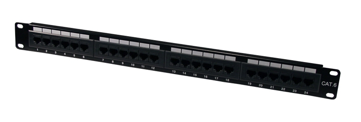 24Port CAT6 RJ45 110Block Patch Panel C6PNL-24 037229715514 Category 6/CAT6 - Patch Panel, 24Ports, 250MHz Certified, T568A/B 110 Block P24T-XXX-C6X/XX 006668  C6PNL24 C6PNL-24      2225  microcenter Eckhardt Discontinued