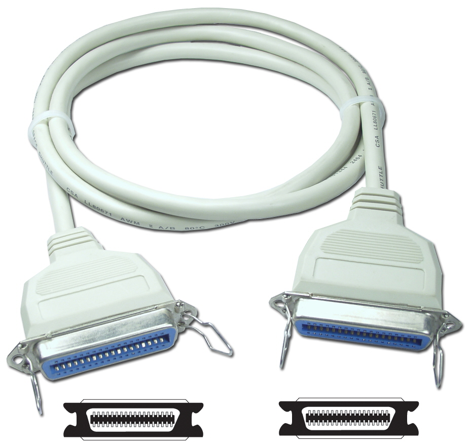 10ft Parallel Cen36 Female to Female Bi-directional Cable CC303-10 037229303100
