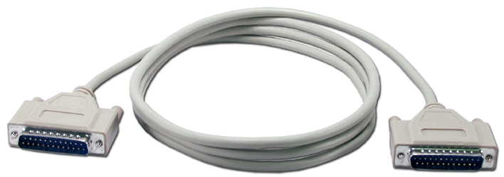 10ft DB25 Male to Male RS232 Serial Cable CC378-10 037229378108