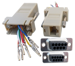 DB9 Female to RJ45 Female Serial/Terminal Modular Adaptor CC439 037229334395 Adaptor, Serial RS232 to RJ45 8Wires Modular, RJ45F/DB9F (Custom Pin-Out Application) 529537  CC439 CC439 adapters adaptors     2830  microcenter Michael Weiler Approved