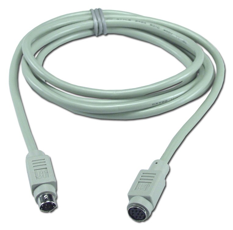6ft Mini8 Male to Female Macintosh Straight Thru Extension Cable CC525-06 037229525069 Cable, Straight Thru, Extension, Apple/Mac, Mini8M/F, 6ft 167643  CC52506 CC525-06  cables feet foot   2849  microcenter Carrico Discontinued
