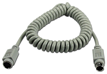 6ft Mini4 Male to Female Macintosh Straight Thru Extension Cable CC526-06 037229526066 Cable, Straight Thru, Keyboard/Mouse Extension - Coiled Type, Apple/Mac ADB, Mini4M/F, 6ft, 26AWG CC52606 CC526-06  cables feet foot   2852