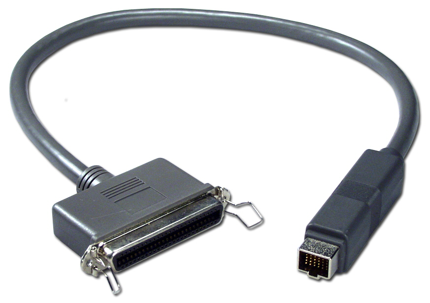 2ft Apple PowerBook HDI30 to SCSI Centronics50 Female Docking Cable CC543D-02 037229543025 Cable, Apple/Mac PowerBook to Docking Station, HDI30M/Cen50F, 2ft CC553D-02   947499  CC543D02 CC543D-02  cables feet foot   2883  microcenter  Discontinued