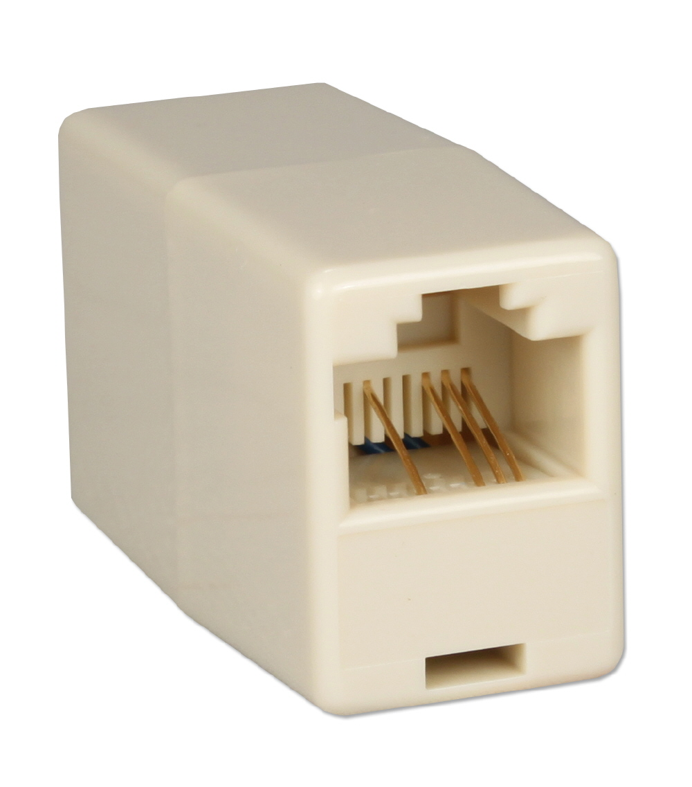 Telco RJ45 Female to Female Crossover Coupler CC936X 037229936018 Telco RJ45 Crossover Coupler, RJ45F to Female Extension Joint CC936X CC936X      3203