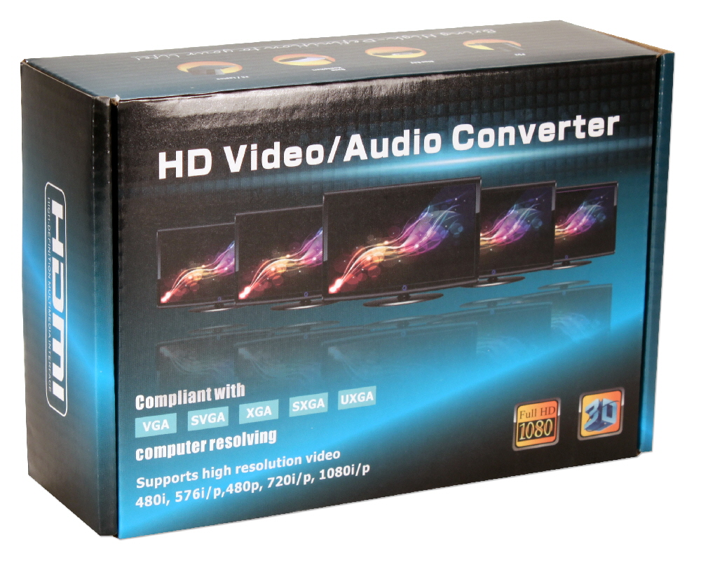 HDMI Audio Extractor with HDMI Pass Through Port - HD-ADE