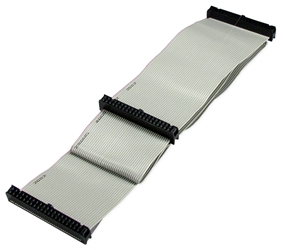 "24 Inches IDE Dual Drives Ribbon Cable IDEHD-24 037229945836 Cable, IDE/PATA Flat Internal Ribbon, (2) Hard Disk Drive, 24"" IDE24-2   646166  IDEHD24 IDEHD-24  cables    3491  microcenter Eshelman Discontinued"