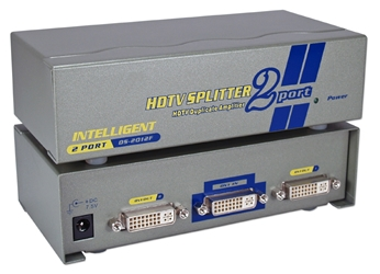 2Port DVI/HDTV Digital Video Splitter/Distribution Amplifier with HDCP MDVI-12H 037229006803 DVI 2Port Digital Video Splitter/DA/Distribution Amplifier, Supports HDTV/HDCP up to 1080i and up to 165MHz UXGA 1600x1200 60Hz, DVI-D Female DS-2012F   MDVI12H MDVI-12H      3598