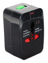 Premium World Power Travel Adaptor Kit with Surge Protection PA-C3 037229334210 All-in-1 Global/World Travel Power Adaptor with Surge Protection for US, UK, Europe, Asia and more PA-C1  931L 90852 NZ7282 PAC3 PA-C3 adapters adaptors     3974 IMCE microcenter Zachary Sheets Approved