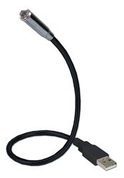 "14 Inches Flexible Black USB LED Notebook Light USB-L1B 037229000122 USB LED flexible light for notebook and desktop computers, Black, 14"" USB-LL  MDU-01 220491 TW8140 USBL1B USB-L1B      2093 IMCE microcenter Zachary Sheets Approved"