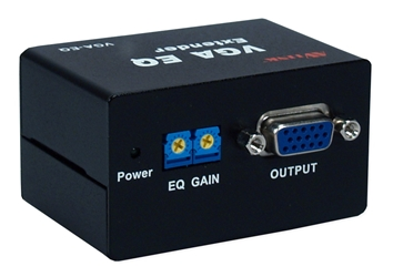 180-Meter VGA/QXGA EQ Video Extender VGA-EQ 037229007312 VGA EQ 180 Meters Extender, Supports SXGA at 180M and QXGA at 150M. VGA-EQ   VGAEQ VGA-EQ    meters  3918
