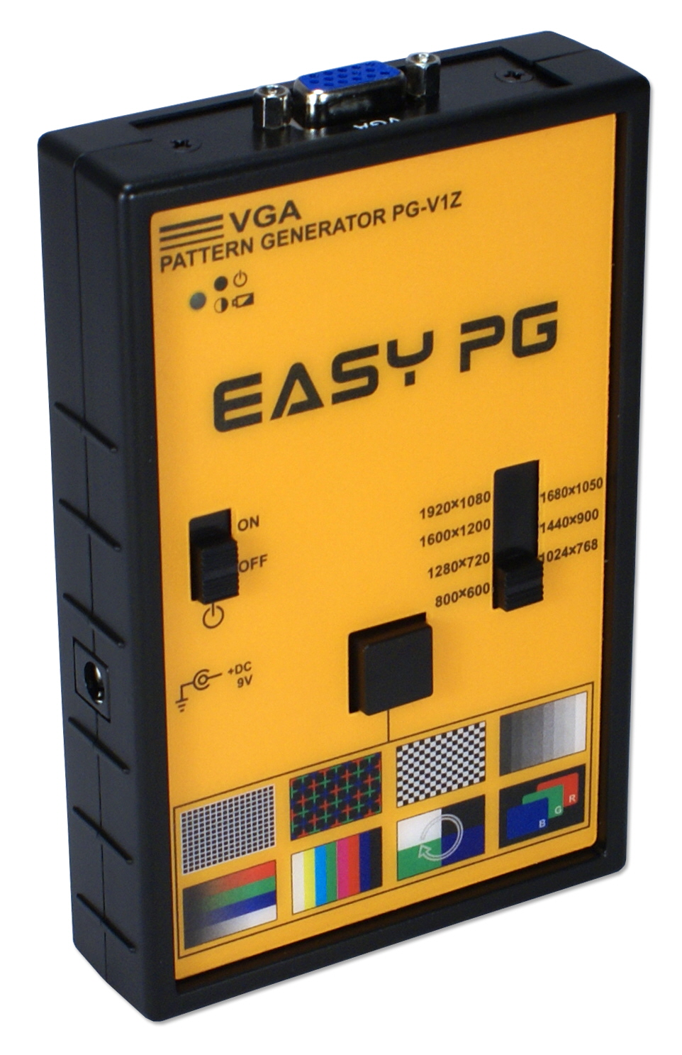 VGA Video Pattern Generator VPG-VL 037229007442 EZ Video Pattern Generator, VGA/WUXGA, 162MHz with 8 patterns and 7 different screen resolutions, HD15 Female PG-V1Z 0000415778 KV6460 VPGVL VPG-VL      3922 IMCE microcenter Richard Eckert Discontinued