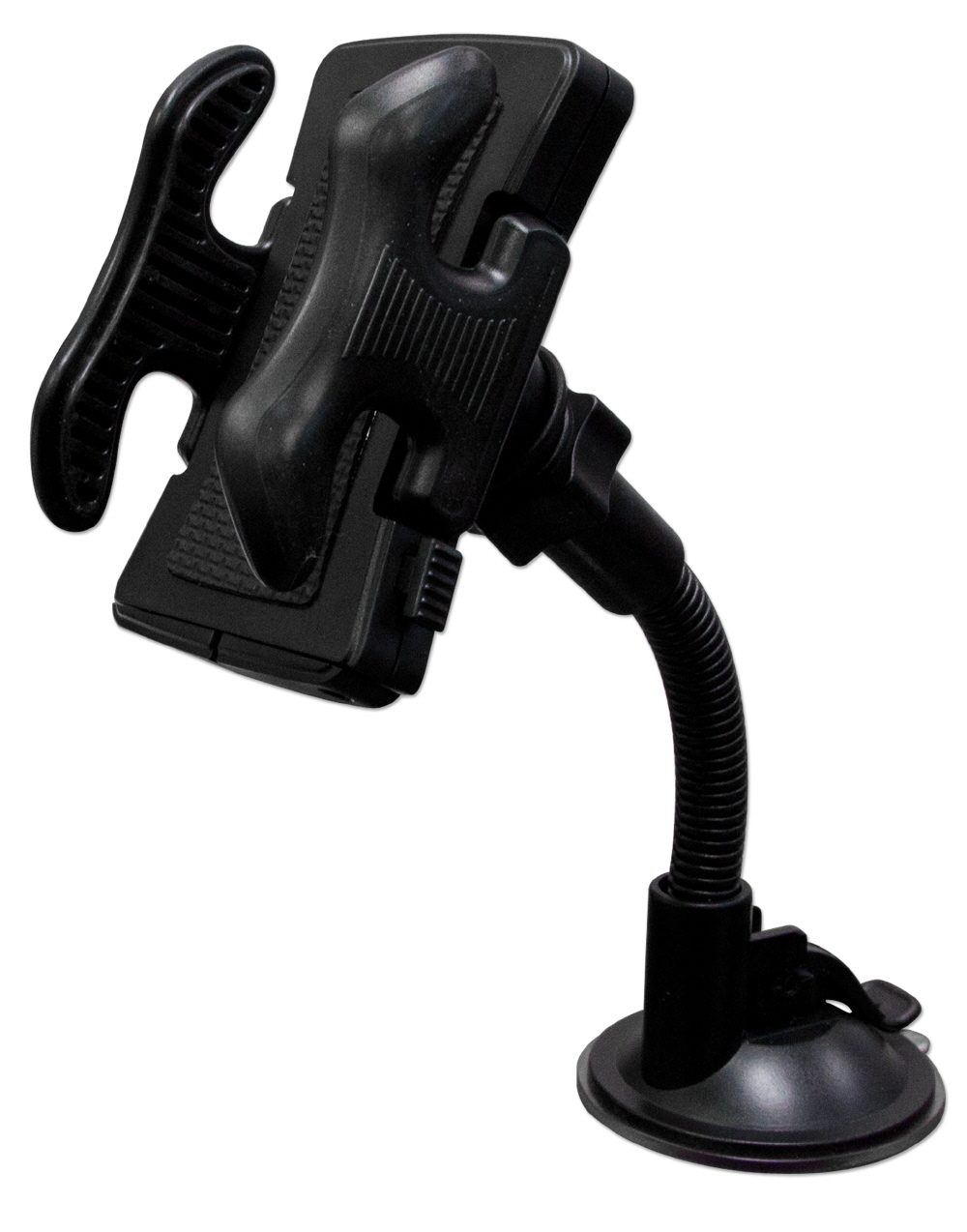 Universal Windshield Mount Holder for SmartPhone & GPS WH-C1 037229334142 Universal Windshield Mount Holder with Flexible Gooseneck for SmartPhone and GPS including iPod/iPhone ZTIPHONE-4-6-009 777763  WHC1 WH-C1      3926  microcenter David Chesrown Approved