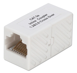 350MHz CAT5e/RJ45 Female to Female Crossover Coupler C5X45FF 037229715446 Category 5E - CAT5e Crossover Coupler, Powersum Certified, RJ45F/F Enhanced C5X45FFB  JE315X/WH JE315B-CE/WH 530253  C5X45FF C5X45FF      2214  microcenter Michael Weiler Approved