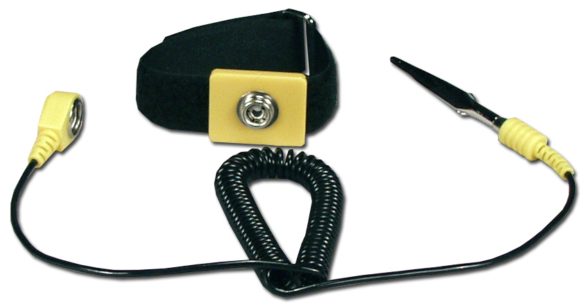 Anti-Static Wrist Strap with Grounding Cord - CA226