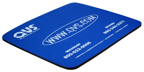 "Blue Mouse Foam Pad CA249QVS Mouse Pad - Blue (9"" x 8"" x 0.25""), Foam"