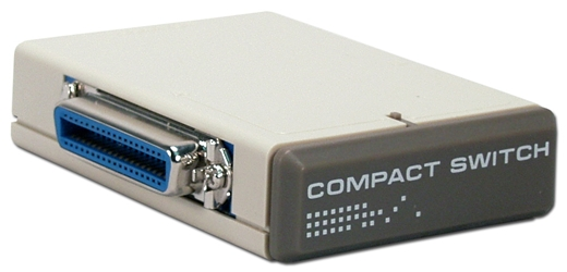 2Port Centronics36 Parallel Share Compact Manual Switch CA261-2C 037229322613 Dataswitch - AB, Parallel Printer, Cen36F, Pushbutton, Compact, 1 Year Warranty CA2612C CA261-2C      2240