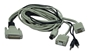 6ft PC/AT Keyboard/Video/Mouse/Audio DB25 KVM Combo Cable CATPC-06 037229541236