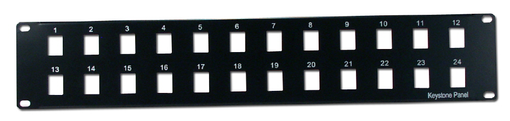 24Port Keystone Jack Blank Rackmount Patch Panel CBPNL-24 037229714227 Category 5/6 - Keystone Jack Blank Patch Panel, Rackmount, 2U, 24Port KJ-P24-M 463083  CBPNL24 CBPNL-24      2290  microcenter Eckhardt Discontinued