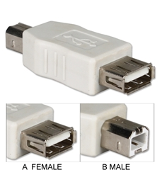 USB High-Speed Type A Female to B Male Adaptor CC2209-FM 037229228342 Adaptor/Inland Coupler, USB Universal Serial Bus Type A/B F/M UA-100-1 163964 J79439 CC2209FM CC2209-FM adapters adaptors     2470 IMCE microcenter Edward Matthews Approved