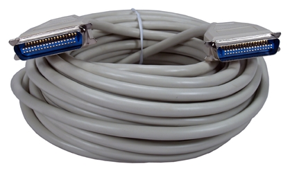 50ft Parallel Cen36 Male to Male Bi-directional Cable CC301-50 037229301502 Cable, Straight Thru, Parallel, Cen36M/M, 25 Wires, 50ft CC30150 CC301-50  cables feet foot   2535
