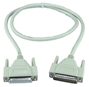 6ft DB25 Male to Female Fully-Wired Extension Cable for Parallel or Serial Applications BB BC00702