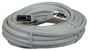 20ft Premium VGA HD15 Female to Female Tri-Shield Plenum Cable CC387P-20 037229421286 Cable, Straight Thru - Plenum, VGA/SVGA Video, Premium, HD15F/F, Triple Shielded, 20ft CC387P20 CC387P-020  cables feet foot   2685