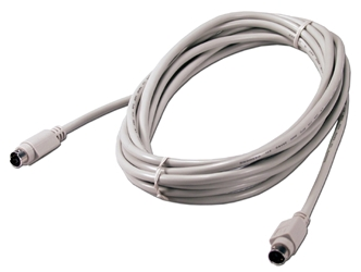15ft Mini6 Male to Male PS/2 Keyboard/Mouse Cable CC389-15S 037229989151 Cable, Straight Thru, Keyboard/Mouse - Straight Type, PS/2, Mini6M/M, 15ft, 24AWG CC389-15SN   908525  CC38915S CC389-15S  cables feet foot   2747  microcenter  Discontinued