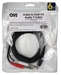 10ft 3.5mm Male to Dual-1/4 Male Audio Y-Cable - CC399TS-Y10