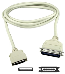 30ft Premium Parallel IEEE1284 MiniCen36 Male to Cen36 Male Bi-Directional Cable CC409D-30-BB 037229008357 Cable, IEEE1284 Parallel Printer Micro-Centronics, HPCen36M/Cen36M, 30ft EQN204-0030    CC409D30BB CC409D-30-BB  cables feet foot   2817