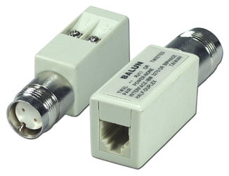 Twinaxial Female to RJ11 Female Balun CC433 037229334333