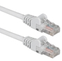 100ft 350MHz CAT5e Flexible Snagless White Patch Cord CC711-100WH 037229713664