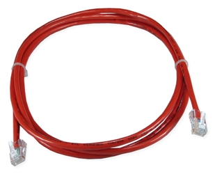 3ft CAT5 Flexible Red Patch Cord CC712-03RD 037229712544