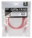 14ft 350MHz CAT5e Crossover Red Patch Cord - CC712EX-14RD