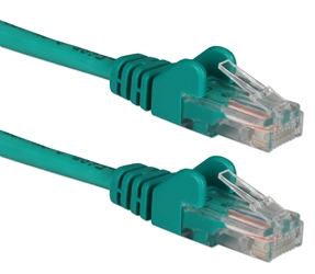 25ft CAT6 Gigabit Flexible Molded Green Patch Cord CC715-25GN 037229715774