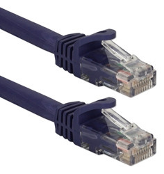 3ft CAT6A 10Gigabit Ethernet Purple Patch Cord CC715A-03PR