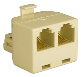 Telco RJ12 Y Socket Splitter CC938 037229938005 Telco RJ12 Y/T Coupler, R12M/(2)F Socket Splitter, for RJ11 and RJ12 phone applications 936633  CC938 CC938      3204  microcenter Michael Weiler Approved