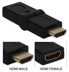 HDMI 720p/1080p HDTV Male to Female PortSaver Swivel Adaptor HDGS-MF 037229492200 HDMI Up/Down Swivel Adaptor/PortSaver, 90Degree Angle, HDMI M/F HDMIGS-MF   371286 VN6252 HDGSMF HDGS-MF adapters adaptors     3434 IMCE microcenter Edward Matthews Approved