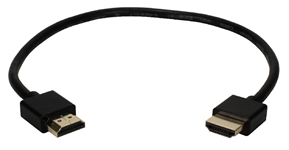1.5ft High Speed HDMI UltraHD 4K with Ethernet Thin Flexible Cable HDT-1.5F 037229401622