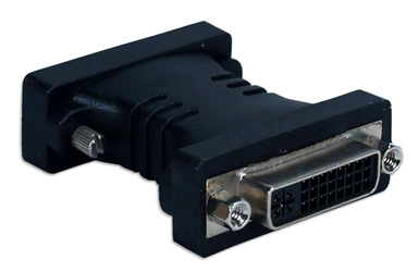 DVI-D Male to DVI-I Female DualLink HDTV/HDCP Adaptor HSDVI-MF 037229489170 Adaptor, DVI-D Male to DVI-I Female Dual-Link Coupler, HDTV/HDCP compliant, DVI M/F 186999  HSDVIMF HSDVI-MF adapters adaptors     3478  microcenter Edward Matthews Approved
