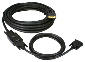 35-Meter FullHD DVI-D 720p/1080p PC/HDTV Video EQ Cable Extender Kit HSDVIG-35MK 037229491777