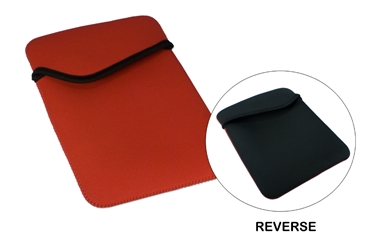 Reversible Sleeve for iPad/2/3 and Tablets IC-RB 037229000214 Reversible Sleeve/Nylon Padded Bag/case for Apple iPad and iPad 2 tablets and other e-Readers, Red/White 0000906958 KV7021 ICRB IC-RB      3486 IMCE microcenter David Chesrown Discontinued