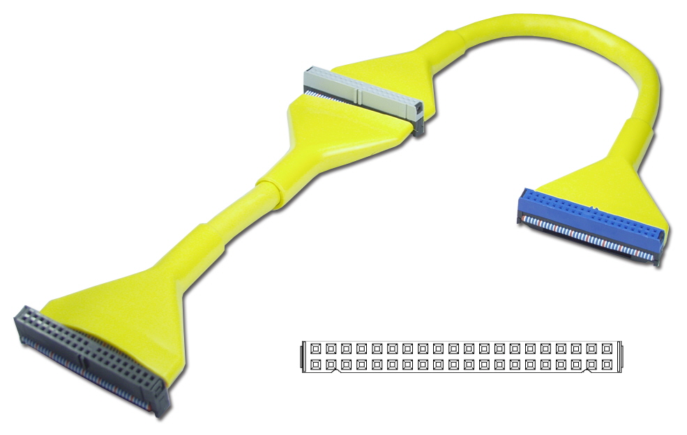 "18 Inches IDE ATA/133 Dual Drives Yellow Round Internal Bulk Cable IDEU-2AYWB 037229111385 Cable, Premium Ultra IDE/EIDE/PATA ATA33/66/100/133 Round Internal w/80 Wires, 2 Drives, Yellow, 18"", Bulk IDEU2AYWB IDEU-2AYWB  cables    3544"