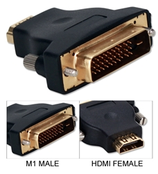 InFocus/Proxima Projector M1 Male to HDMI Female Video Adaptor M1HD-MF 037229004861 Adaptor, InFocus Projector EVC M1 to HDMI HDTV/HDCP Converter, M1 M/HDMI F M1HDMI-MF   814863  M1HDMF M1HD-MF adapters adaptors     3580  microcenter Edward Matthews Approved