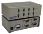 400MHz 4Port VGA Video Splitter/Distribution Amplifier with Port On/Off Switch MSV604P4PC 037229006544