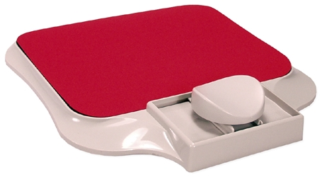 Red Ergonomic Mouse Stage with Pad MT-5RD 037229317046 Ergononic Mouse Stage with Pad, Red MT5RD MT-5RD      3650