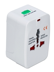 Premium World Power Travel Adaptor Kit with Surge Protection PA-C3WH 037229334685